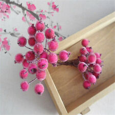 2 5 10PCS Simulation small berries garland glass beads DIY accessories materials