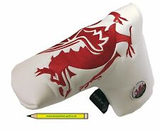 Welsh Traditional Putter / Hybrid / cover magnetic ballmarker & Free Pencil