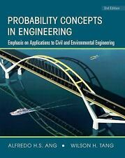 Probability Concepts in Engineering : Emphasis on Applications to Civil and...