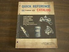 Original 1965 Ford Dealer Quick Reference Parts Book Fairlane Galaxie Mustang +