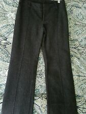 American eagel womans grey wool dress pants, fully lined size 2 stretch boot cut