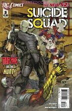 SUICIDE SQUAD #3 DC NEW 52 COMIC BOOK HARLEY QUINN TASK FORCE X 1st PRINT 1