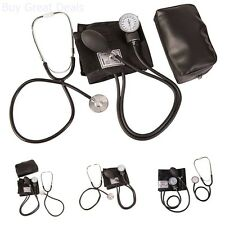 New Home Blood Pressure Kit with Manual Sphygmomanometer Stethoscope