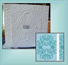 CUTTLEBUG Embossing Folders NATHANIELS PENWORK folder set 5x7 scrolls wedding