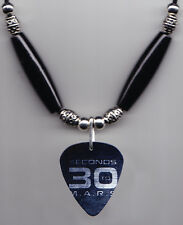 30 Seconds to Mars Logo Guitar Pick Necklace 30STM