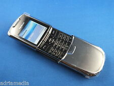 Original Nokia 8800 Luxus Edelstahl Silber Handy ABSOLUT NEU Lifetimer 0:00 NEW
