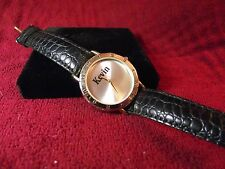 Man's Kevin Watch with Black Band  Lot K259