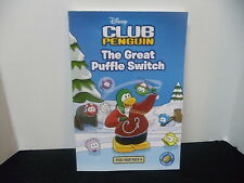 Club Penguin The Great Puffle Switch (Disney Club Penguin, No. 4) [Paperback]