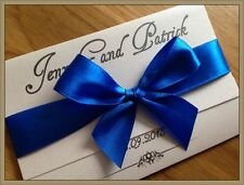 50 Personalised Wedding Invitations Day Evening Invites + Envelopes ===BEAUTY===