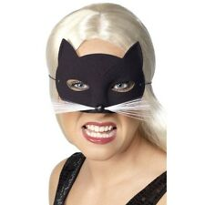 Da Donna Cat Eye Mask W Whiskers Costume Animale Nero Costume Sexy Divertente Donna