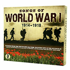 Songs of WWI CD Set - 1914-1918 - 60 songs from the war to end all wars!