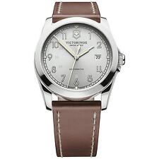 Victorinox Swiss Army Men's Infantry 241566 Brown Leather Swiss Automatic Watch