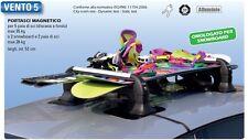 Porte Ski magnétique VENTO5 - 5 paires de skis ou 2 snowboards avec antivol NEUF
