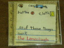 THE LEMONHEADS Car button cloth CD