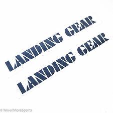 "SE Racing Bikes Retro Landing Gear Fork Decal Set Dark Gray 12"" Length"