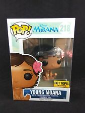 Funko Pop! Disney Young Moana (Sitting) Hot Topic Exclusive Vinyl Figure #218