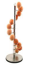 Eddingtons Stainless Steel Egg Spiral Holder Crate Storage, Holds 12 Eggs 850050