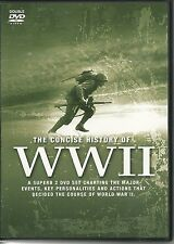 THE CONCISE HISTORY OF WWII - 2 DVD BOX SET - WORLD WAR TWO