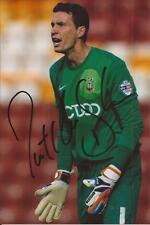 BRADFORD * JON McLAUGHLIN SIGNED 6x4 ACTION PHOTO+COA