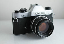 Rolleiflex SL35 35mm camera with Carl Zeiss Planar 1,8/50mm Lens FOR PARTS