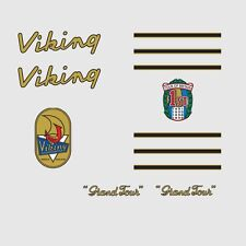 Viking Grand Tour Bicycle Frame Stickers, Decals, Transfers  n.7