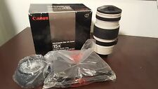 Canon Macro Zoom Interchangeable CL 8-120mm f/1.4-2.1 VL 15X AF Video Lens