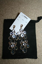 J.CREW CASCADING GLASS EARRINGS