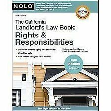 The California Landlord's Law Book : Rights and Responsibilities by Ralph...
