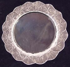 """8"""" Salad Plate in Honfleur by Lalique small fleabite on base"""