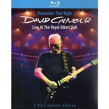 David Gilmour-Remember that night/Live at the Royal Albert Hall 2 BLU-RAY NUOVO