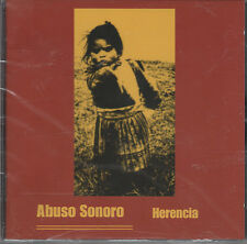 Abuso Sonoro - Herencia CD - New / Sealed (2001) Hardcore Punk Crust