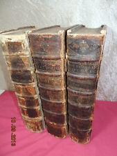 MÉLANGE CURIEUX DE L'HISTOIRE SACRÉE & PROFANE Louis Moreri in-folio1688 rare !