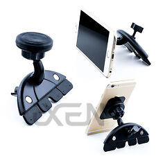 Lettore CD AUTO UNIVERSALI Slot Magnetico Mount Holder per iPhone iPad Tablet Gps