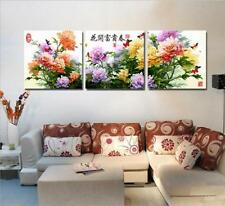 """16x20"""" DIY Home Decor Acrylic Paint By Number Kit Three Parts Painting 208"""