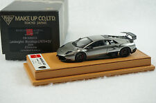 1/43 MAKE UP LAMBORGHINI SV670 CHROME COLOR TAN LEATHER LIMITED BBR