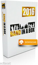New PG Music Band in a Box Pro 2016 PC Composition & Accompaniment Software