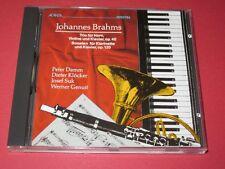 Damm, Klöcker, Suk, Genuit / Brahms: Trio für Horn, Violine und Klavier - CD