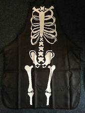 Halloween Skeleton Spooky Haunted BBQ Apron Party Novelty Costume Fancy Dress