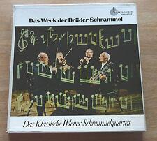 El Clásico Wiener Schrammelquartett 3LP caja Austriaco Archivos de sonido