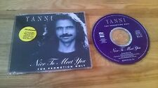 CD Pop Yanni - Nice to Meet You (1 Song) Promo PRIVATE MUSIC sc