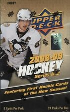 2008-09 Upper Deck Hockey Series 1 HOBBY Box Stamko Auto Rookie Patch Jersey?