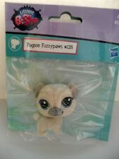 LITTLEST PET SHOP 128 PUGSON FUZZYPAWS RARE  SPECIAL EDITION