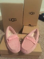 NEW Authentic UGG Rosea Ruffles Slippers Moccasins youth size 2 NIB Retail: $95