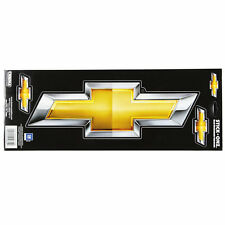 Original gm Chevy Chevrolet Bowtie logotipo us car pegatinas decal sticker grande nuevo
