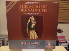 JAPAN SOUNDTRACK LP - SONG OF BERNADETTE/ISLAND IN THE SKY - NEWMAN - NM 1976