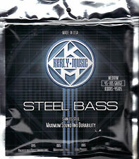 New: ELECTRIC BASS GUITAR STRINGS - Steel Bass (45-105 Gauge / Medium)