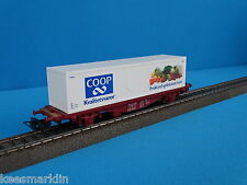 Marklin 4673 SJ Klima Container car COOP