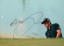 Graeme McDOWELL Signed Autograph 16x12 GOLF Ryder Cup Team Europe AFTAL COA