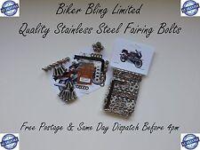 HONDA CBR400R NC23 1989 CBR400RR CBR 400 R RR STAINLESS STEEL FAIRING BOLTS