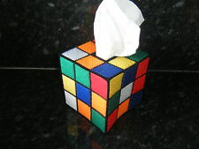 RUBIK'S CUBE BIG  BANG THEORY TISSUE BOX COVER-US TV-RUBIC RUBIX TBBT